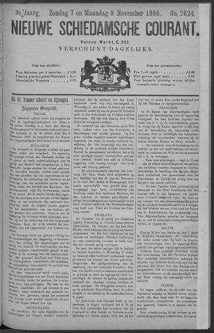 Nieuwe Schiedamsche Courant 1886-11-08