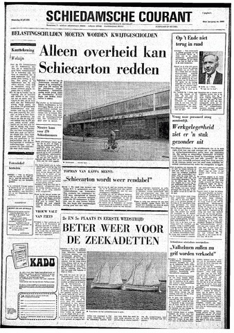 Rotterdamsch Nieuwsblad / Schiedamsche Courant / Rotterdams Dagblad / Waterweg / Algemeen Dagblad 1974-07-10