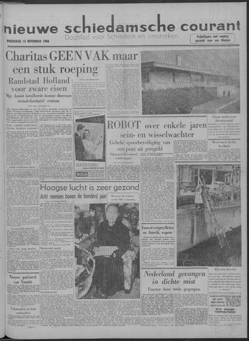 Nieuwe Schiedamsche Courant 1958-11-12