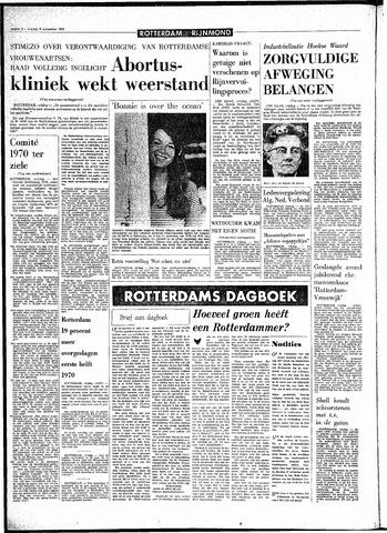 Rotterdamsch Parool / De Schiedammer 1970-11-06