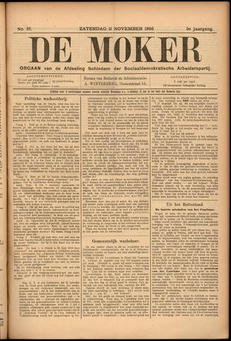De Moker 1905-11-11
