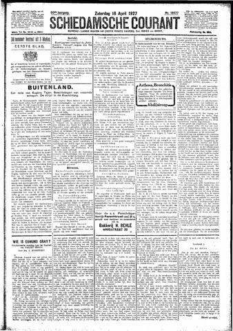 Schiedamsche Courant 1927-04-16