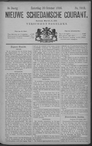 Nieuwe Schiedamsche Courant 1886-10-30