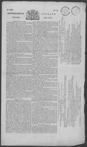 Rotterdamse Courant 1835-05-02