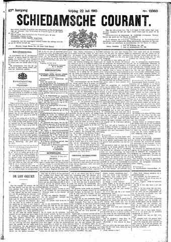 Schiedamsche Courant 1910-07-22