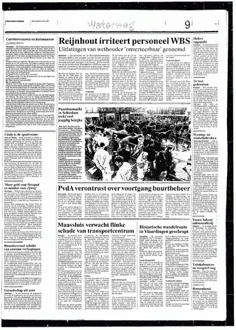 Rotterdamsch Nieuwsblad / Schiedamsche Courant / Rotterdams Dagblad / Waterweg / Algemeen Dagblad 1993-03-29
