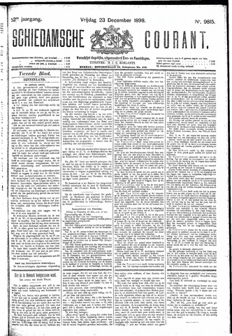 Schiedamsche Courant 1898-12-23