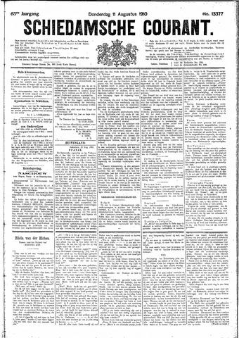 Schiedamsche Courant 1910-08-11