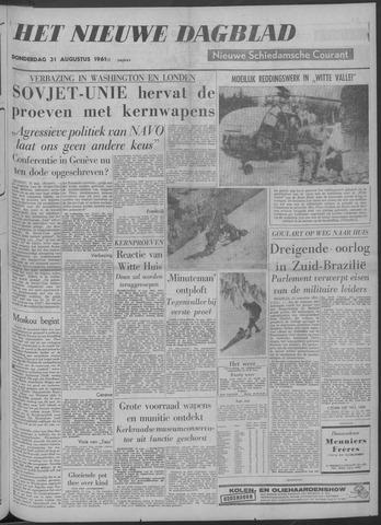 Nieuwe Schiedamsche Courant 1961-08-31
