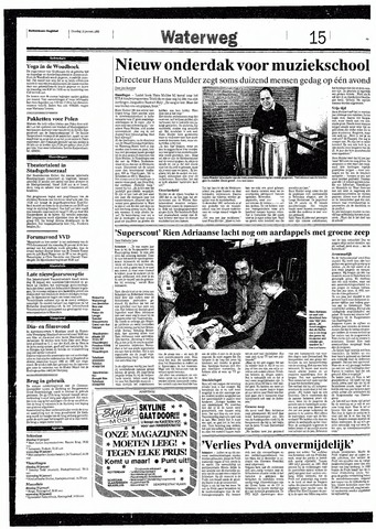 Rotterdamsch Nieuwsblad / Schiedamsche Courant / Rotterdams Dagblad / Waterweg / Algemeen Dagblad 1993-01-19