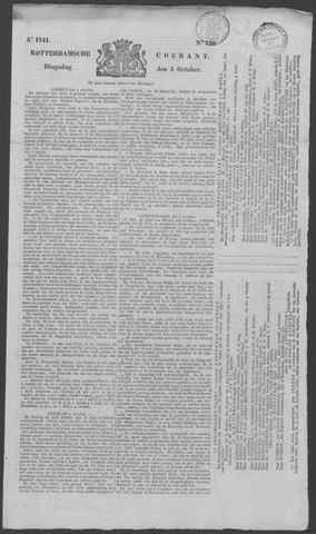 Rotterdamse Courant 1841-10-05