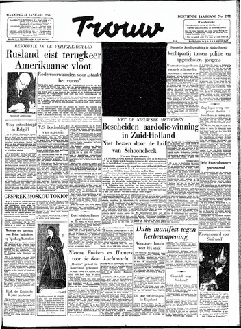 Trouw / De Rotterdammer 1955-01-31