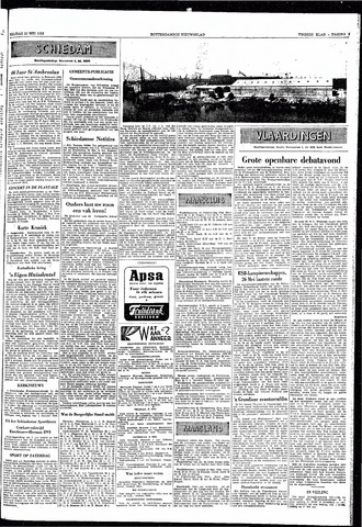 Rotterdamsch Nieuwsblad / Schiedamsche Courant / Rotterdams Dagblad / Waterweg / Algemeen Dagblad 1953-05-22