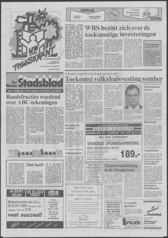Het Nieuwe Stadsblad 1991-11-06