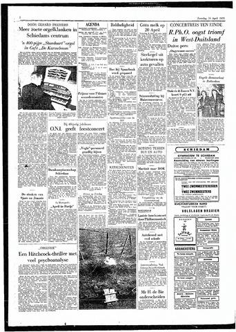 Rotterdamsch Parool / De Schiedammer 1955-04-16