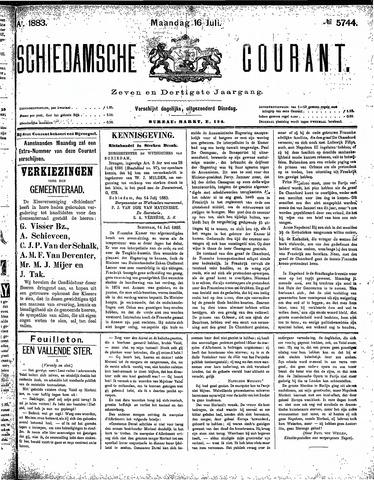 Schiedamsche Courant 1883-07-16