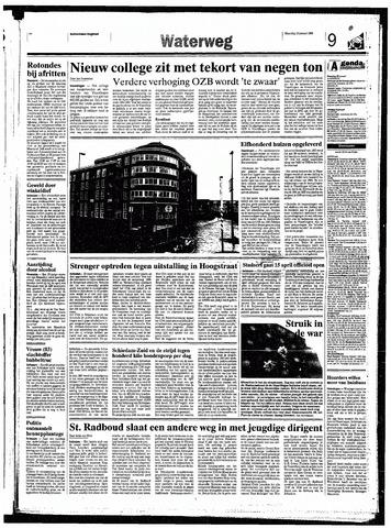 Rotterdamsch Nieuwsblad / Schiedamsche Courant / Rotterdams Dagblad / Waterweg / Algemeen Dagblad 1998-01-19
