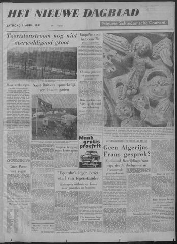 Nieuwe Schiedamsche Courant 1961-04-01