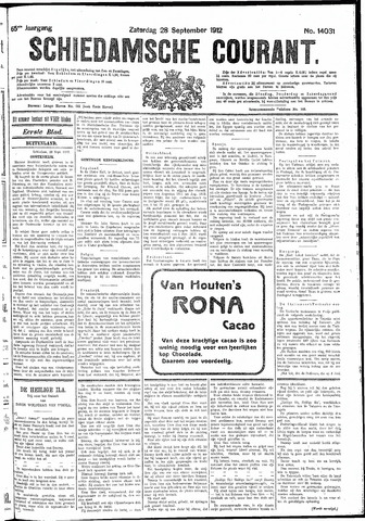 Schiedamsche Courant 1912-09-28
