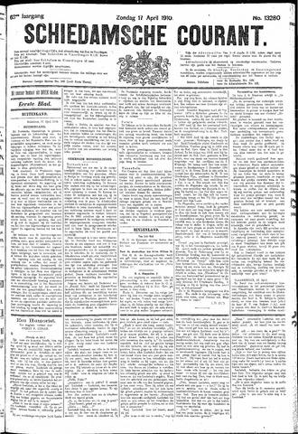 Schiedamsche Courant 1910-04-17
