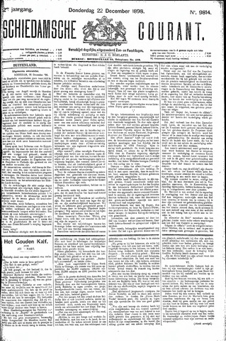 Schiedamsche Courant 1898-12-22