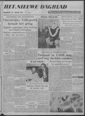 Nieuwe Schiedamsche Courant 1961-03-27
