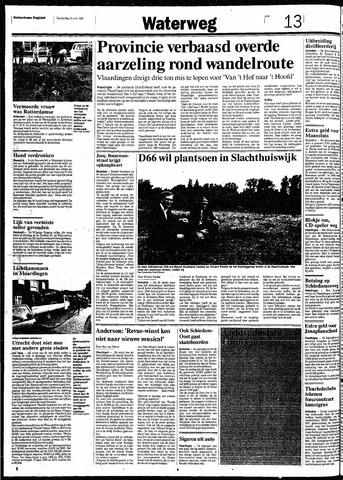 Rotterdamsch Nieuwsblad / Schiedamsche Courant / Rotterdams Dagblad / Waterweg / Algemeen Dagblad 1991-06-20