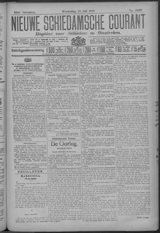 Nieuwe Schiedamsche Courant 1918-07-24