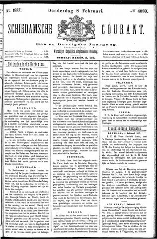 Schiedamsche Courant 1877-02-08