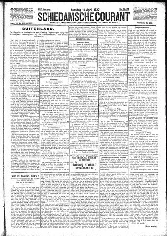 Schiedamsche Courant 1927-04-11