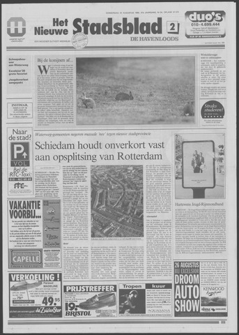 Het Nieuwe Stadsblad 1995-08-24