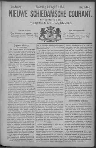 Nieuwe Schiedamsche Courant 1886-04-10