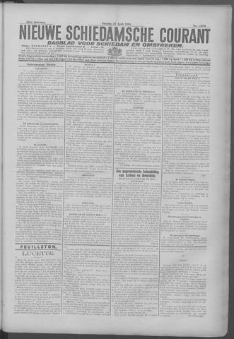 Nieuwe Schiedamsche Courant 1925-04-21