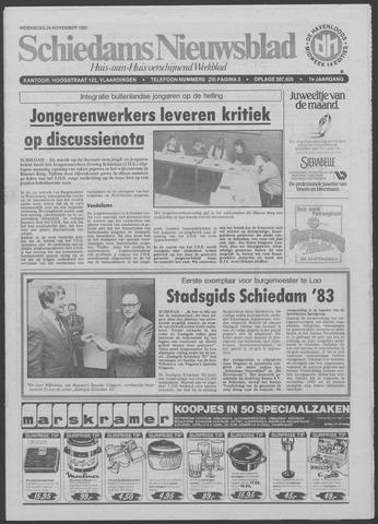 Schiedams Nieuwsblad 1982-11-24