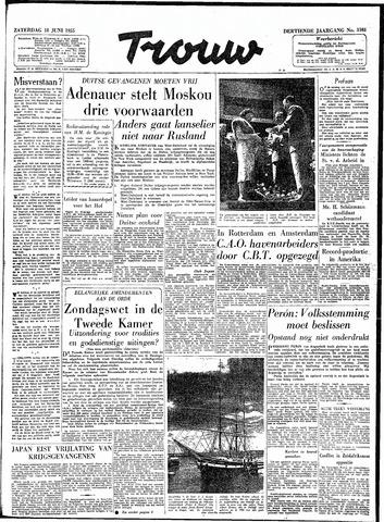 Trouw / De Rotterdammer 1955-06-18