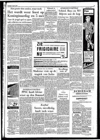 Rotterdamsch Parool / De Schiedammer 1962-04-17
