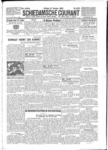 Schiedamsche Courant 1933-10-27