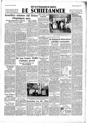 Rotterdamsch Parool / De Schiedammer 1949-01-10