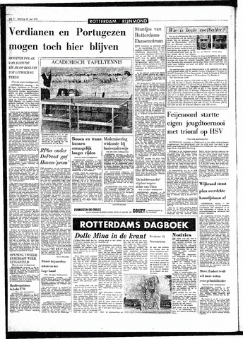 Rotterdamsch Parool / De Schiedammer 1970-05-23