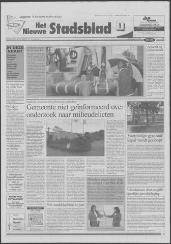Het Nieuwe Stadsblad 2001-07-25