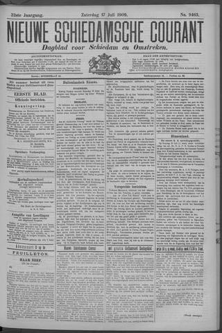 Nieuwe Schiedamsche Courant 1909-07-17