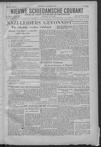 Nieuwe Schiedamsche Courant 1946-10-01
