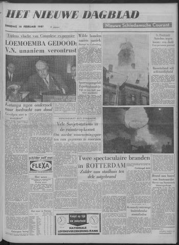Nieuwe Schiedamsche Courant 1961-02-14