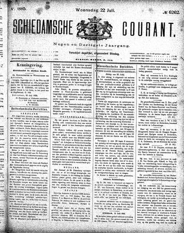 Schiedamsche Courant 1885-07-22