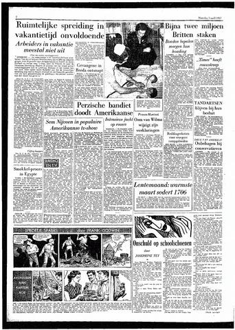 Rotterdamsch Parool / De Schiedammer 1957-04-01