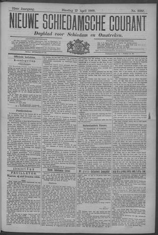 Nieuwe Schiedamsche Courant 1909-04-27