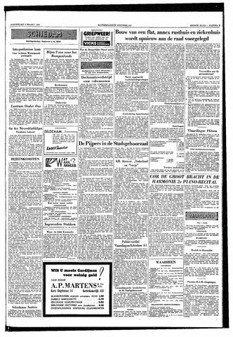 Rotterdamsch Nieuwsblad / Schiedamsche Courant / Rotterdams Dagblad / Waterweg / Algemeen Dagblad 1953-03-05
