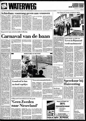 Rotterdamsch Nieuwsblad / Schiedamsche Courant / Rotterdams Dagblad / Waterweg / Algemeen Dagblad 1991-01-24