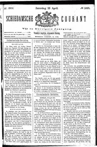 Schiedamsche Courant 1881-04-23