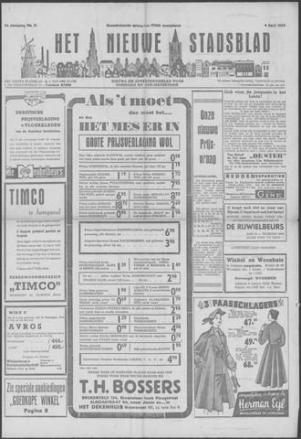 Het Nieuwe Stadsblad 1952-04-04
